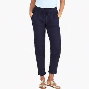 NWOT J. Crew cotton drawstring pants